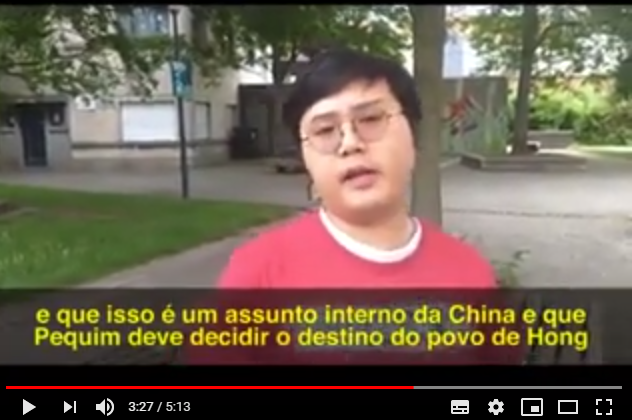 Video. Interview met Pasha van Socialist Action (Hongkong)