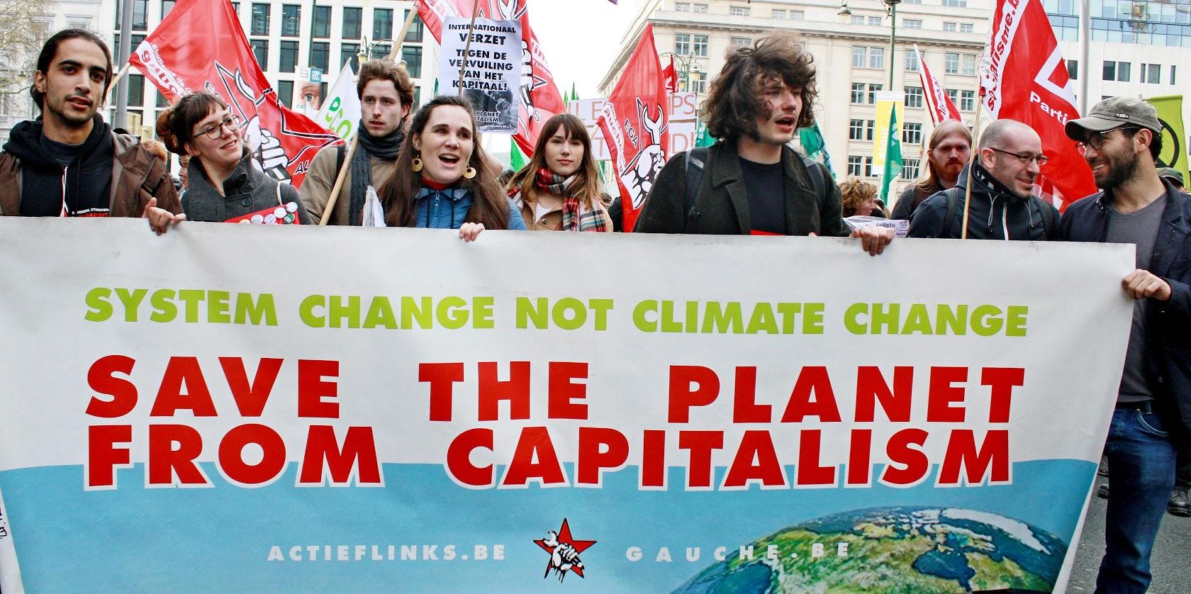 Strijd voor leefbare planeet is internationaal!