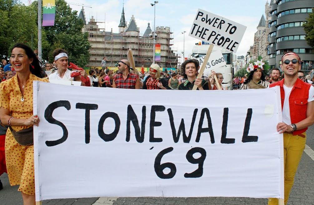 Antwerp Pride in teken van 50 jaar Stonewall