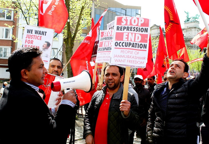 Protest nodig tegen Modi's aanval op de bevolking van Kasjmir