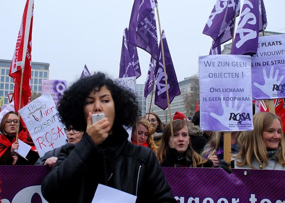 Tienduizenden vrouwenmoorden, 98% van de vrouwen ooit slachtoffer van seksuele intimidatie. Het hoeft zo niet te zijn!