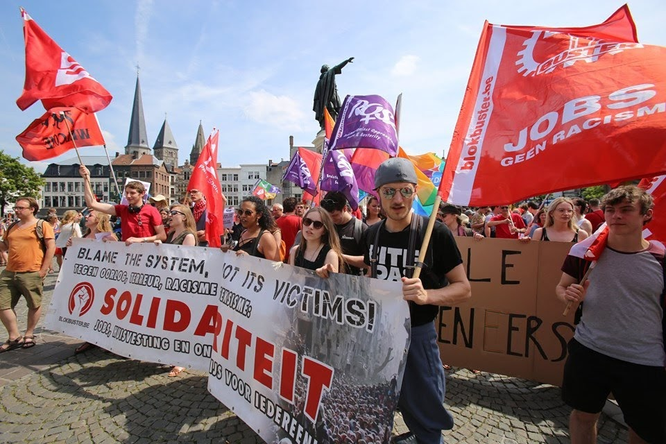 Extreemrechts provoceert, tijd dat links zich organiseert!