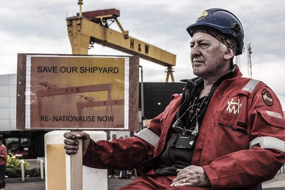 Harland & Wolff: Historische strijd in Noord-Ierland redt jobs