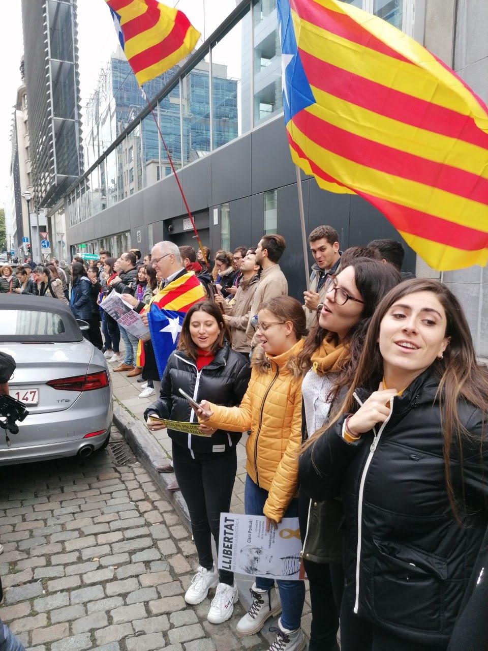 Catalonië in opstand na de zware straffen voor politieke gevangenen