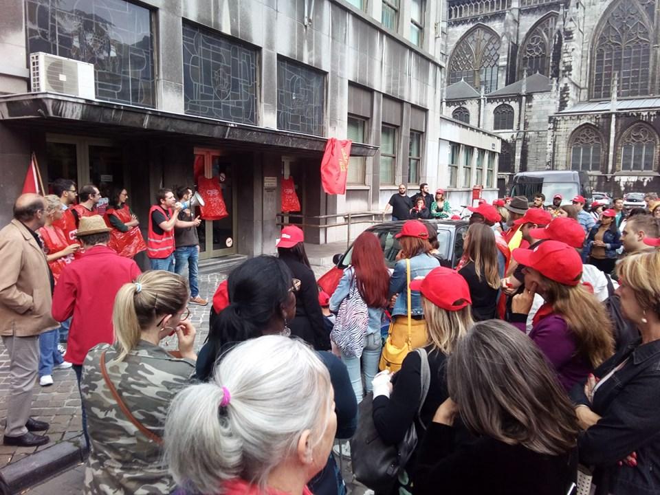 Onhoudbare werkdruk bij het OCMW: interview over het protest in Luik