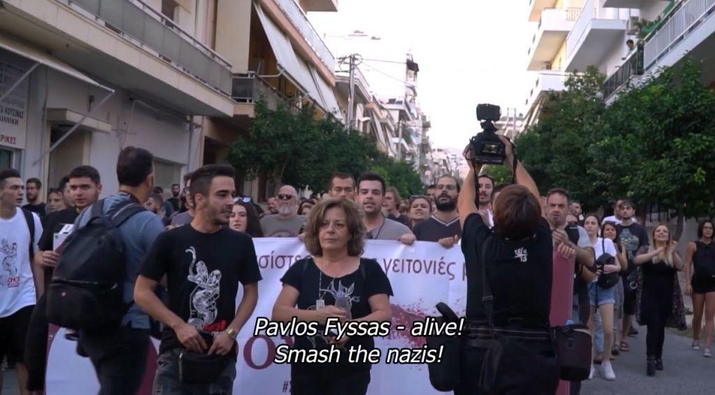 Nooit opnieuw! Zesde verjaardag van de moord op antifascist Pavlos Fyssas