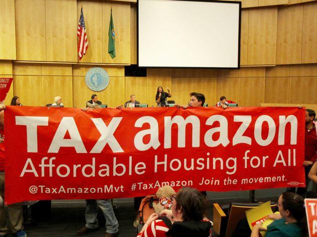 Amazon gooit 1 miljoen dollar in verkiezingsstrijd tegen Kshama Sawant in Seattle