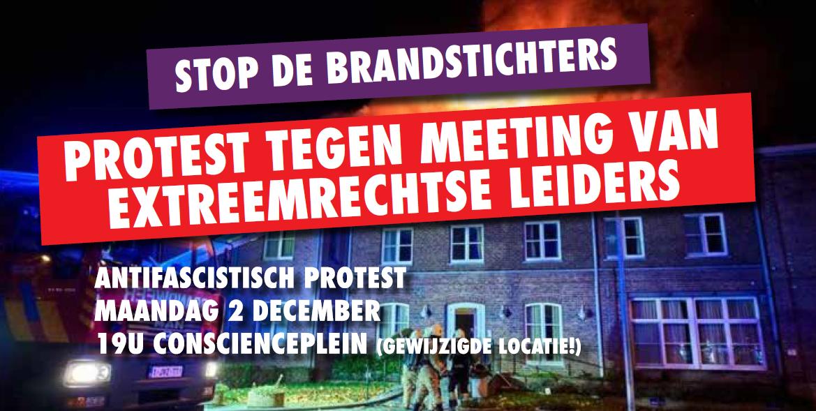 Maandag protest tegen komst Salvini naar Antwerpen