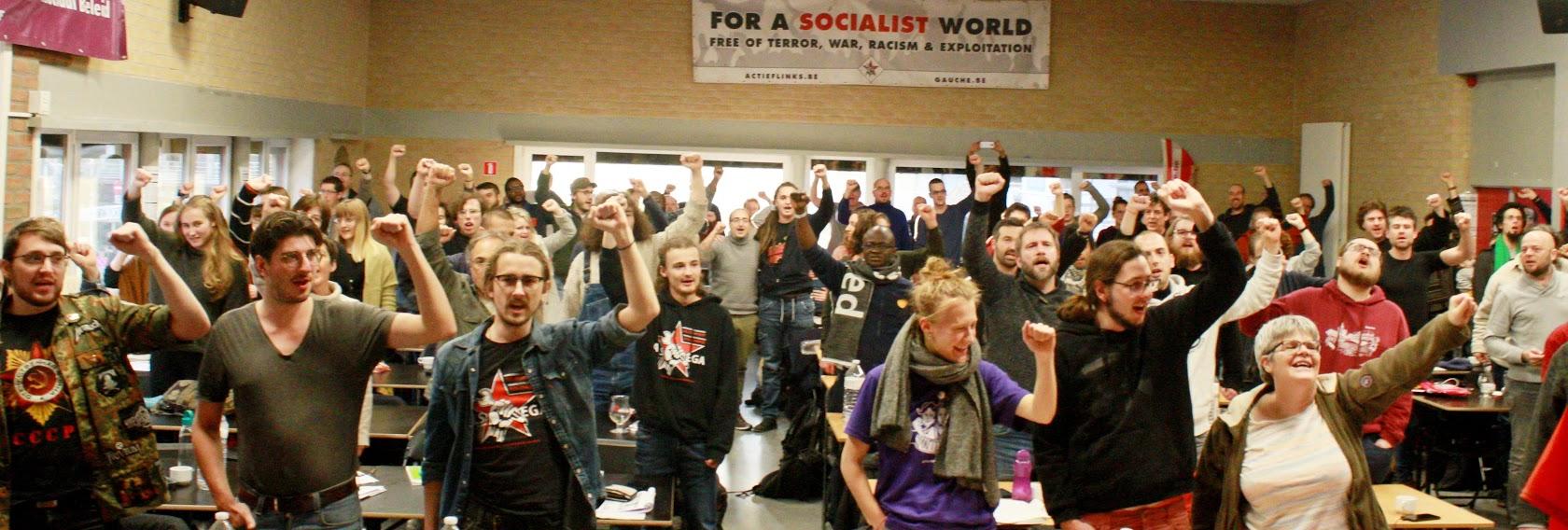 Turbulente tijden: kapitalisme op alle terreinen in crisis. Verzet richten op socialistische maatschappijverandering