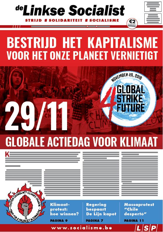 29/11: Globale actiedag voor klimaat