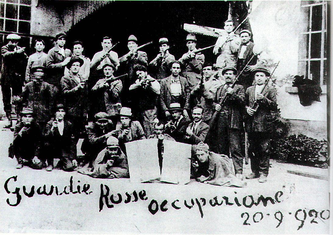 Italië 1919-1920 (deel 3): bezetting van de fabrieken
