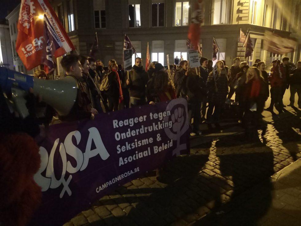 Gent: succesvolle protestactie brengt extreemrechts in defensief