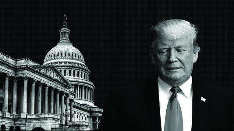 Bestrijd Trump voor zijn echte misdaden