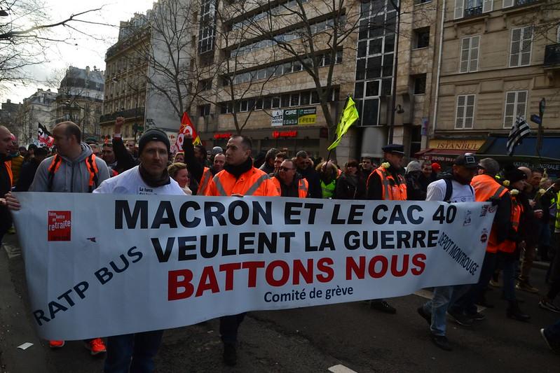 Frankrijk. Cruciale dagen voor de uitbreiding en veralgemening van de staking