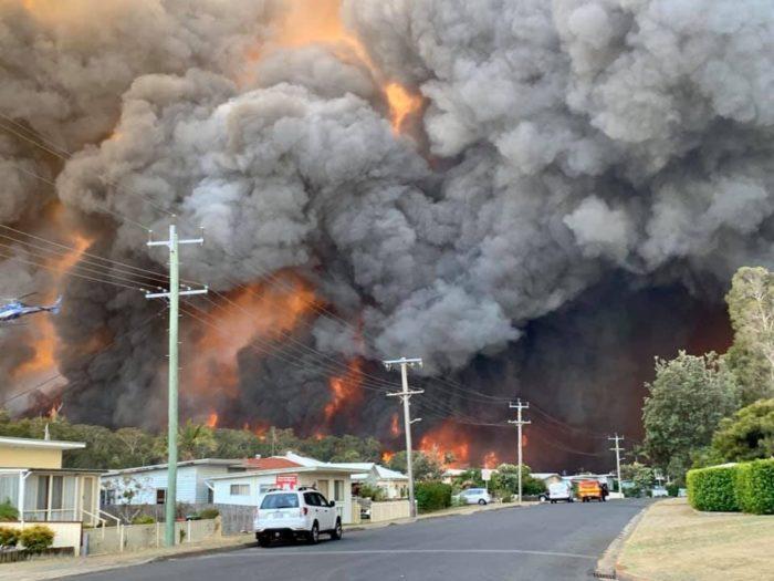 Australië: gebrek aan klimaatmaatregelen en besparingen versterken verwoestende branden