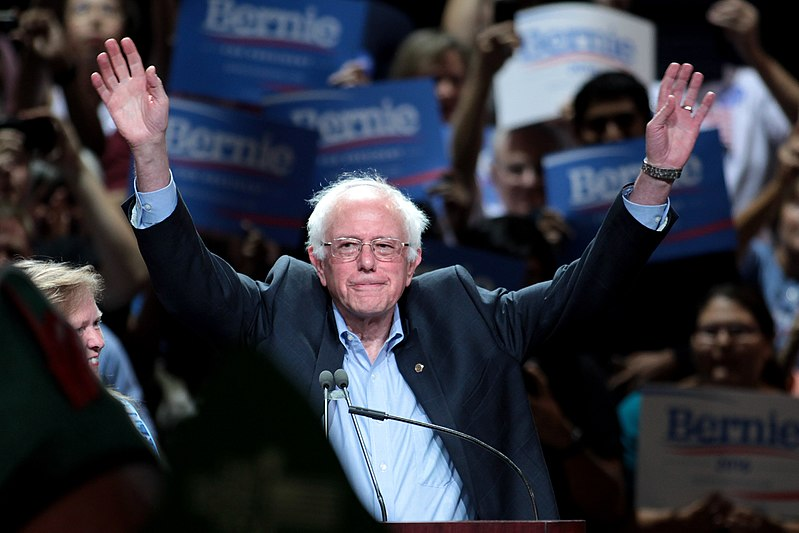 Ondanks sabotage door het establishment: Sanders haalt meeste stemmen in Iowa