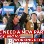 Kshama Sawant op massameeting Bernie
