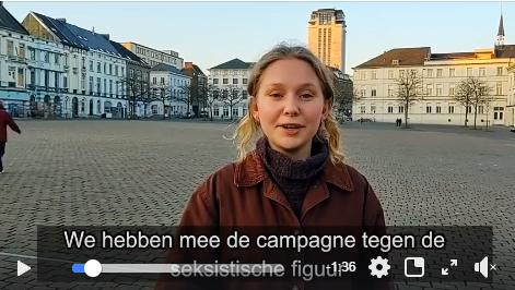 Video: doe mee met de marsen tegen seksisme op 8 maart (Brussel) en 14 maart (Gent)