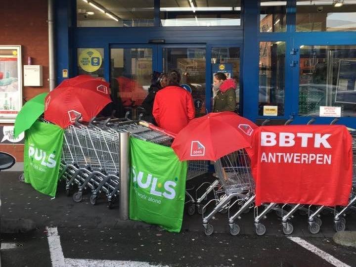 Opnieuw stakingsacties bij Lidl: vandaag in Deurne Noord