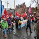 Duizenden klimaatbetogers in Brussel