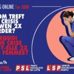 Online meeting op 1 juni: 'Waarom treft elke crisis vrouwen 2x harder'